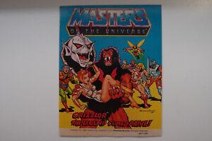 Mini Comic MOTU Masters of the Universe - Grizzlor the Legend comes Alive!