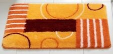 Bathroom Rug Bathroom Carpet Set Rug Bath Mat Orange Yellow NEW