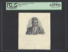Kenya Vignettes DSoe Proof - Jomo Kenyatta Portrait  Uncirculated