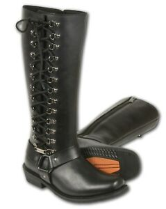 Milwaukee Leather Women's Tall Boot Size 8