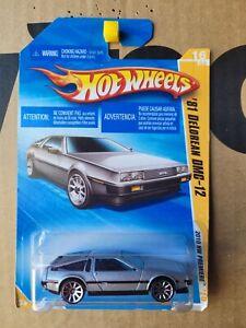 Hot Wheels 2010 - '81 DELOREAN DMC 12 [SILVER] NEAR MINT VHTF CARD GOOD