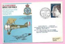 GB 1973 RAF Cover - #54 SQDN. 25th Ann. 1st JET CROSSING ATLANTIC - Shs BFPS1402