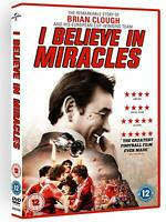 Brand New I Believe In Miracles - Brian Clough DVD Free Postage