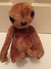 "Vintage 1982 Kamar International E.T. Extra Terrestrial Plush Toy 11"" Black Eyes"