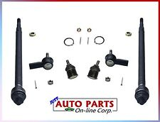 BALL JOINTS + OUTER AND INNER TIE ROD END FOR CIVIC 2001-2005 ACURA EL 2001-2005