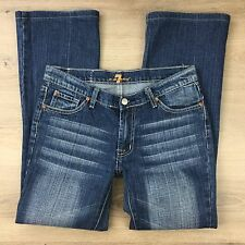 7 For All Mankind Women's Jeans Boot Cut W31 Actual W32 L29 (SS10)