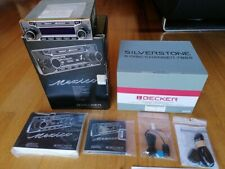 BECKER MEXICO RETRO be 7948 like new + Becker Silverstone 7860 CD changer NEW