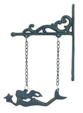 Cast Iron Hanging Mermaid Wall Decor Mermaids