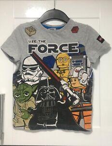 Boys Lego  Star Wars T-Shirt 9 Years