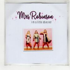 (FU951) Mrs Robinson, I'm A Little Obsessed - DJ CD