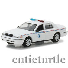 Greenlight 2010 Ford Crown Victoria Police Interceptor Car 1:64 USPS 29891 White