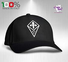 Cappello Berretto Hat Cappellino Houston 5 pannelli NERO - FIORENTINA