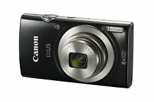 Canon IXUS 185 20MP 8x Zoom Compact Digital Camera Black With Case