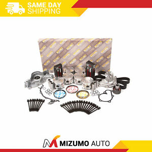Overhaul Engine Rebuild Kit Fit 88-94 Nissan 300ZX D21 (RWD) Infiniti 3.0L VG30E