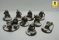 28mm Warlord Games Bolt Action Winter US Airborne Squad Painted by RBStudio