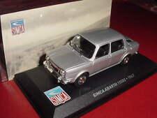 SIMCA ABARTH 1150 S 1963 grise 1/43 IXO EN BOITE
