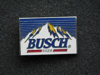 VINTAGE METAL PIN   BUSCH BEER