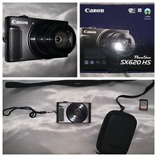 Canon PowerShot SX620 HS + Carrying Case + 64GB Memory Card - Never Used