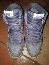 Scarpe Nike Air revolution Sky Hi, da donna con zeppa taglia 37,5
