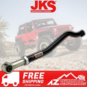 JKS Adjustable Heavy Duty Front Track Bar fits 07-18 Jeep Wrangler JK JKU OGS121