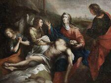 ABRAHAM VAN DIEPENBEECK 1596-1675...GRANDE & PUISSANTE PEINTURE...LA LAMENTATION