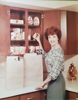 Vintage Photography 1960s Kitchen Pantry Pretty Miss Advertising