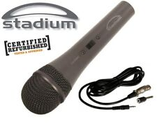 2 x Dynamic Microphone Unidirectional MIC + Cable + 3.5mm + 6.35mm adapter *RFB*