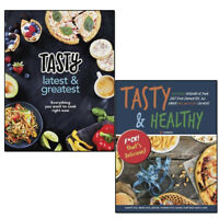Tasty Latest and Greatest and Tasty & Healthy F*ck That's Delicious 2 Books Set