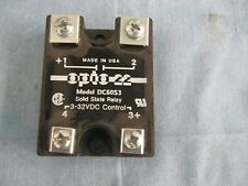 Opto 22 Model: DC60S3 Solid State Relay.  3 - 32 VDC Control <