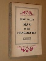 Henry MILLER Max et les Phagocytes E.O. française,