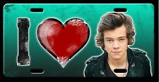 L@@K! Harry Styles 1D One Direction License Plate Vanity Auto Tag