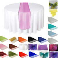 10 Pcs Organza Table Runner Cloth Wedding Party Home Table Decor 70cm x 275cm