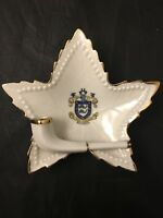 In Deo Fidemus Brighton Crested China Pipe Star Leaf Ashtray