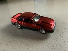 Hot Wheels 2013 RLC 1992 Ford Mustang Red Color LOOSE with Real Riders