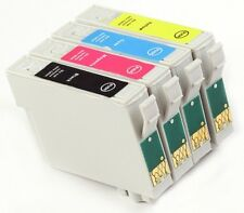 4 INKS FOR EPSON D78 D92 D120 DX4000 DX4050 DX4400