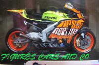 MOTO GP 1/22 HONDA RC 211V  VALENTINO ROSSI 2003 VALENCIA  WORLD CHAMPION PROTAR