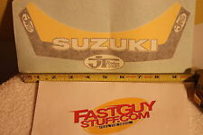 Vintage JT Racing Suzuki helmet visor decal sticker RM RA RH RN 125 250 400 465