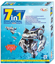 7 in 1 Space Series-2 Recharge Solar Educational DIY Kit Science Project Model