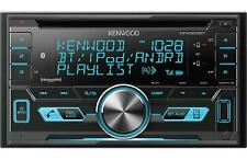 Kenwood DPX503BT Double 2 DIN CD Player Bluetooth Spotify SiriusXM Radio Ready