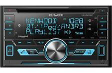 Kenwood DPX503BT Double 2 DIN CD Player Bluetooth Spotify SiriusXM Radio Ready