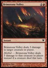 MTG 4x BRIMSTONE VOLLEY - Innistrad *Damage Morbid*