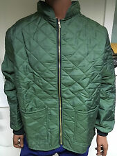 Green térmica acolchada chaqueta F/R-tamaño 2XL