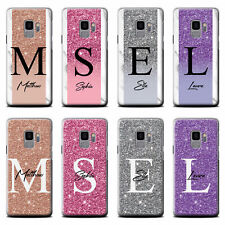 PERSONALISED HANDWRITTEN GLITTER MARBLE PHONE CASE FOR SAMSUNG GALAXY COVER
