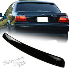 Painted 98 01 BMW E38 7-series A Type Rear Roof Spoiler Rear Wing 303