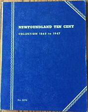 Newfoundland Ten Cent Canada Whitman Folder #9076 NOS
