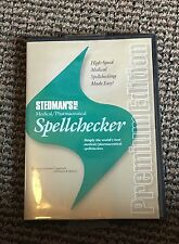 Stedman's Plus Medical Pharmaceutical Spellchecker 2012 Volume 1 Premium Ed