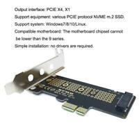 M.2 NVME SSD to pcie 3.0 X1 x4 x8 x16 Desktop Hard Drive Expansion,Adapter Z4N4