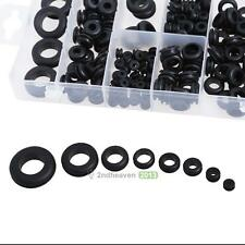 180Pcs Assortment Rubber Grommet Kit Firewall Hole Wiring Electrical Wire Gasket