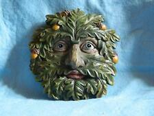 Tree Ent Face Wall Plaque Oak Whisper/Myth and Fantasy/Garden /Sculpture/80602