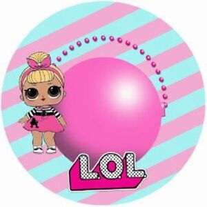 24 Personalised LOL Birthday Party Goody Bags Thank You Stickers